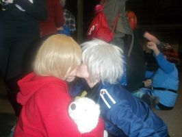 PruCan Cosplay Kiss! by GilbertxBeilschmidt