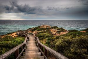 Stairway to hell by Levantera