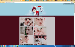My First Tumblr Theme by MeerD
