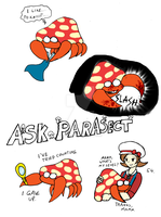 Ask Parasect Responses 4 by Blue-and-Dog