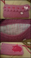 Pink clutch UPDATED by Teapartyforgirls