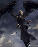 Undead Vulture - Hex by SpaceGoatProductions