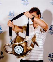 Teapot Cannon with Jamie Bamber by decorinne