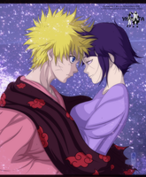 NaruHina Coloring by Zagol