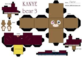 Kanye Bear 3 by Cubee-acres