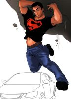Superboy Connor by metal-ostrich