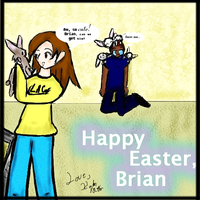 Easter for Brian by leanameoko