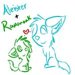 Rowan and Ale~ by Rowanoak13