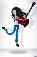 Marceline with family Axe by nazo-gema