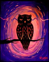 night owl by vonnbriggs