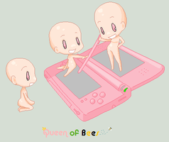 MY DS by QueenofBees