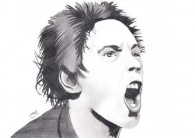 Johnny Rotten by Jon-Wyatt