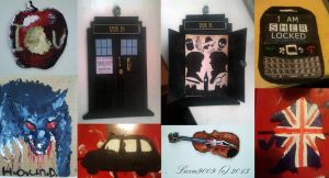 Sherlock Wall by lizzie9009