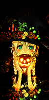 Halloween Anime Girl Sig by Dvilgabrimhf