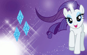 + Rarity Wallpaper + by Ponyphile
