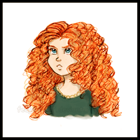 Merida - Sketch Coloured by FEuJenny07