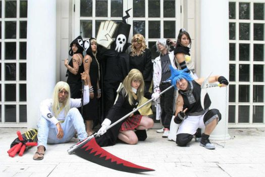 Soul Eater Group by Rocchan94
