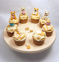 Baby Shower Cupcakes by MrsBumble