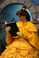 And her nose stuck in a book by DisneyLizzi