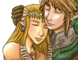 ZELINK I Missed You colored by Rinkuchan27