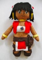 Nadia Plushie by dollphinwing