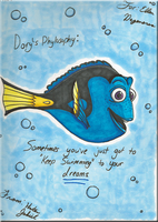 Dory's Philosophy by VernFeathers