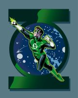 Vector Green Lantern by jasonpal