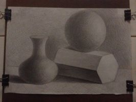still life drawing :) by biznguyen0210