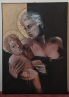 2012 madonna and child, final by TheRealDarkRevan