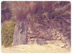 stone wall by scalliope