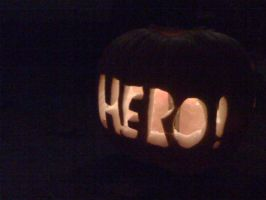 my pumpkin i carved. by Canada960