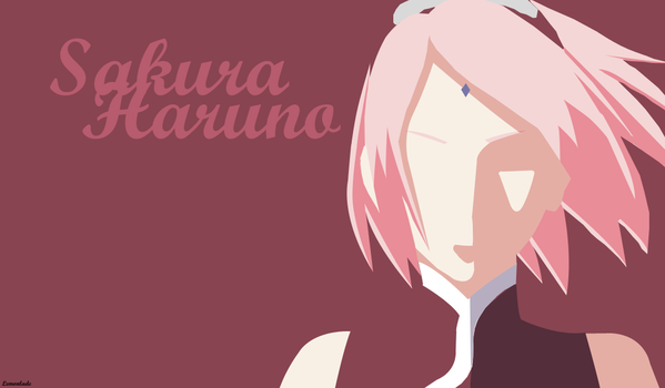 Sakura Fan Art by Lemonlade22