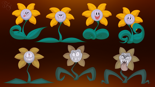 Floweys by Haylizbeth
