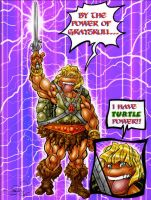 TEENAGE MUTANT NINJA MOTU by Sweet-Babboo