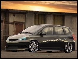Honda Jazz by pacmanstyle