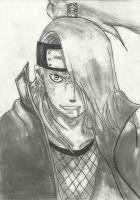 Deidara by nobodyonlyI