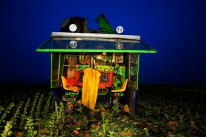 Brussel Sprouts Harvester by JoostvanD