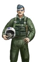 Vietnam era USAF pilot 2 by dashinvaine