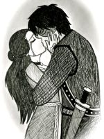Lancelot and Guinevere by daydreamer-22