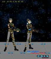 Character Concept Marines (Navy) by Luckymarine577