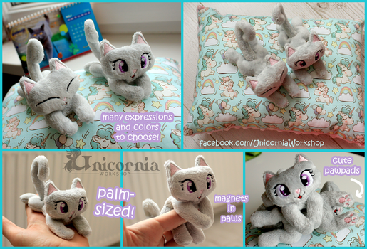 Tiny Kitties Commissions! by Unicornia-Workshop