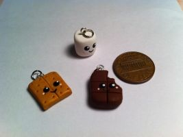 S'mores Charm Set ~$2 by Jenna7777777