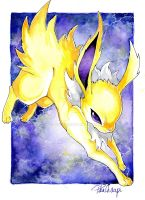 Jolteon~ by PikaChoupi