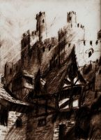 Charcoal Castle by LordGood