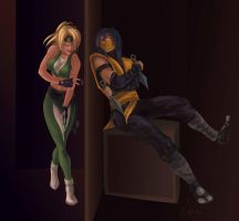 Scorpion X Sonya by Aen-Riv