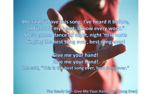 The Ready Set - Give Me Your Hand lyrics by melody1720