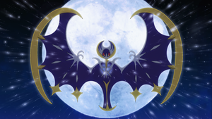 Lunala wallpaper by Elsdrake