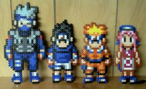Team Kakashi: Beaded by TomatoisJPhansburg