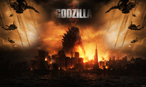 Godzilla 2014 Wallpaper #2 by Angelus23