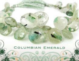 emeralds by BeadsofCambay